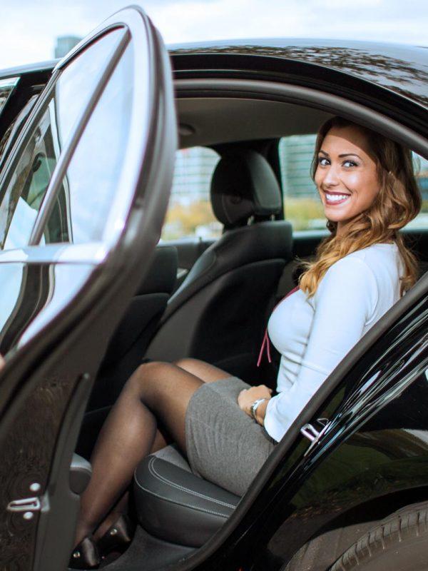 luxury car chauffeur service near me
